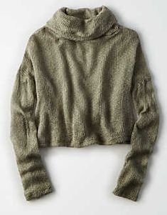 Don't Ask Why Textured Turtleneck -