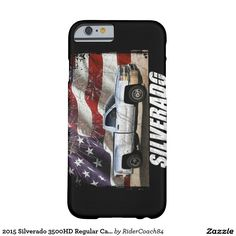 2015 Silverado 3500HD Regular Cab LT Dually Barely There iPhone 6 Case