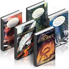capas de livros J.R.R. Tolkien