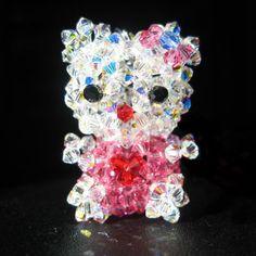 Crystal Hello Kitty by vivee.deviantart.com on @deviantART