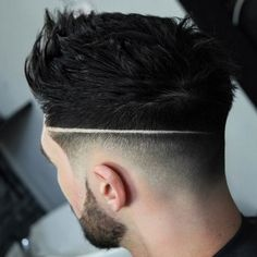 Bald Fade Haircut with Line - Best Men's Hairstyles: Cool Haircuts For Men. Most Popular Short, Medium and Long Hairstyles For Guys Mens Hairstyles Fade, Cool Hairstyles For Men, Cool Haircuts, Hairstyles Haircuts, Haircuts For Men, Mens Fade Haircut, Men Hairstyle Short, Medium Fade Haircut, Hairstyle Fade