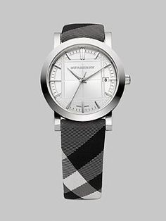 My new Burberry Watch! Not really a wishlist item since I own it! #DreamsComeTrue :)