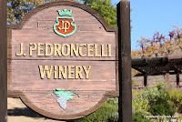 The Reverse Wine Snob: Delighting in the Dry Creek Valley. Pedroncelli Winery in Dry Creek Valley.