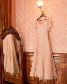 Arden Wohl Wore Custom Zac Posen to Marry at Her Big, Artsy Williamsburg Wedding