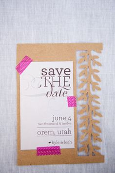 Save the Date    Brooke Schultz Photography: On Style Me Pretty: http://www.StyleMePretty.com/2012/07/05/rustic-brunch-wedding-photo-shoot-by-brooke-schultz-photography/
