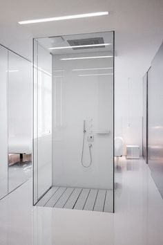 ~Bath Simplified  #Aesthetics  #Design #Elegance #Interiors #Minimalist  #White