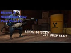 Team Fortress 2 Prop Hunt (1) W/ NightBlaze Shut Up I Don't Suck! #team #fortress #prop #hunt
