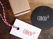 Stempel: »(HO)3« Weihnachten
