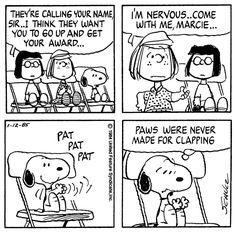 Peppermint Patty, Marcie, and Snoopy. Snoopy Cartoon, Snoopy Comics, Peanuts Cartoon, Peanuts Gang, Peanuts Comics, Snoopy Love, Snoopy And Woodstock, Funny Cartoons, Funny Comics