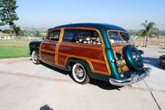 FOR SALE: 1951 Ford Woody Woodie wagon original wood
