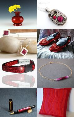 July: Ruby- Ruby is the birthstone for the month of July. Focused on all things ruby or ruby colored--Pinned with TreasuryPin.com