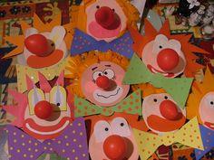 paper plate clowns