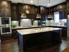 Kitchen Ideas With Dark Cabinets exotic wood flooring: guide to choice | grey hardwood floors, grey