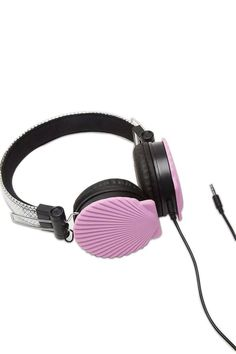 Mermaid Shell Headphones | Forever21