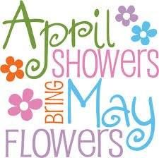 april clip art april showers bring may flowers design stock vector rh pinterest com Month of April Clip Art april showers clip art images