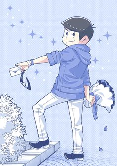 Discovered by Анька-пулеметчица. Find images and videos about anime, osomatsu san and karamatsu on We Heart It - the app to get lost in what you love. Anime In, Hot Anime Guys, Kawaii Anime, Another Anime, Ichimatsu, South Park, Webtoon, Disney Characters, Fictional Characters
