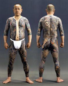 Irezumi (full body tattoo) , Japan. S)