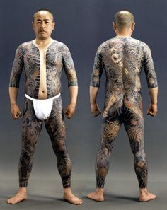 Irezumi (full body tattoo) , Japan. S)