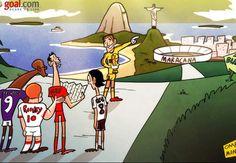 Europa inicia su camino hacia Brasil 2014