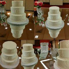 Congratulations chelsey and jesse! #sweetartscreations buttercream #cake @ambersweetarts www.facebook.com/sweetartscreationsllc