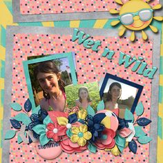 Pictures of my daughter.  Kit used:  Summer Splash by Day Dreams 'n Designs available at http://www.scraps-n-pieces.com/store/index.php?main_page=index&manufacturers_id=83  Template by Day Dreams 'n Designs.