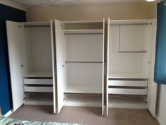 Ikea pax bergsbo frostglas  PAX Wardrobe with 2 doors IKEA Perfect where space is limited ...