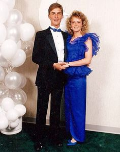The Most Awkward Celebrity Prom Photos of All Time - Matthew McConaughey