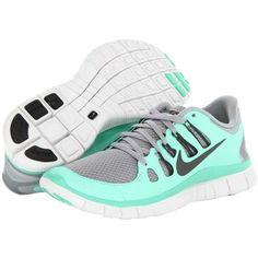 Nike Free 5.0 Tiffany Blue Black Gray