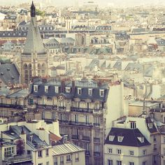 How can rooftops be so beautiful? #Paris