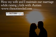 (How my wife and I maintain our marriage, while raising 3 kids with #Autism) has been published on The Autism Dad  Rob Gorski  https://www.theautismdad.com/2017/04/09/how-my-wife-and-i-maintain-our-marriage-while-raising-3-kids-with-autism/  #Adhd, #Anxiety, #Aspergers, #Autism, #Bipolar, #CaregiverBurnout, #Dad, #Depression, #Family, #Insomnia, #Parenting, #Schizoaffective, #Self-Care, #Sensory, #SpecialNeeds, #SpecialNeedsParenting