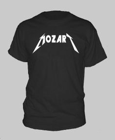 Mozart Classical music tshirt tee shirt long and by CoolTeesPlease, $6.50