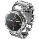 Leatherman 832021 Tread QM1 Stainless Steel Bracelet Multi-Tool and Watch