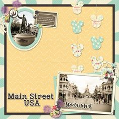 Layout using {Main Street Parade} Digital Scrapbook Kit by Magical Scraps Galore available at Gingerscraps and Scraps-N-Pieces http://www.scraps-n-pieces.com/store/index.php?main_page=product_info&cPath=66_152&products_id=10210 http://store.gingerscraps.net/Main-Street-Parade.html #magicalscrapsgalore #disney