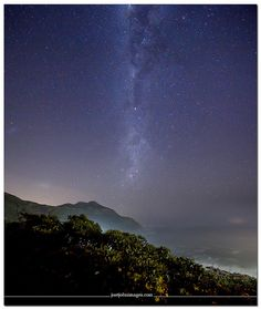 Chapmans Peak Milky Way (by Just John via Flickr) Cape Town Tourism, Welcome Images, World Images, World's Most Beautiful, Milky Way, Northern Lights, African, Mountains, Space