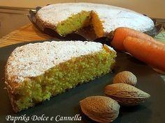 Torta di Carote Mandorle e Ricotta (senza olio e burro)