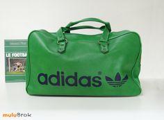 Vintage 1970s Adidas Peter Black Northern Soul Holdall Weekend Sport Bag  www.mulubrok.fr a52b3f3aab