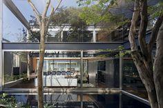 Bacopari House | UNA Arquitetos #courtyard