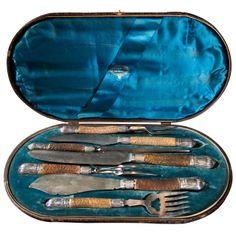 1stdibs.com | English Carving Set, 1852