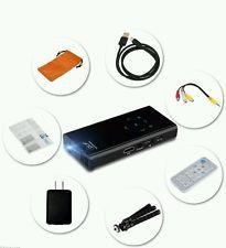 Mini Pocket Portable LED DLP Projector Home Cinema HD 1080P Pico Smart Phones AV