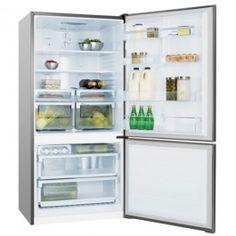 electrolux 510l bottom mount ebm5100sdr fridge top freezer fridges u0026 freezers