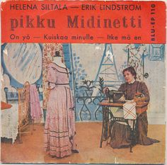 Helena Siltala - Erik Lindström - Pikku Midinetti (1958, Vinyl)   Discogs Video Editing, Mma, 1950s, Album, Cover, Mixed Martial Arts, Card Book