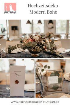 Modern Boho Hochzeitstischdekoration Place Cards, Place Card Holders, Table Decorations, Modern, Home Decor, Trendy Tree, Decoration Home, Room Decor, Home Interior Design