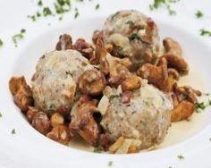 Croquettes au chevreuil et girolles fraîches   Cuisine AZ