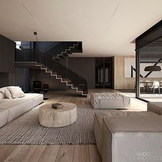 99 fabouls modern house interior ideas that you must see - Modern House Plans - Four Cool Features All these four popular features can be seen in house plans. Some modern innovations within this discipline enable Contemporary Interior Design, Modern House Design, Home Interior Design, Interior Architecture, Interior Ideas, Loft Design, Amazing Architecture, Design Design, Design Interiors