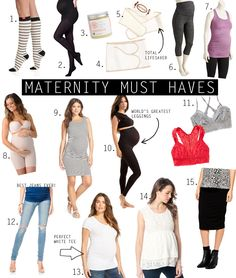 With her third child on the way, Jen shares her maternity must haves on her blog Jen Loves Kev!