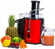 buy now   £48.99   Easy to use and easy to clean, it's easy to fall in love with this powerful and efficient juicer.  With its quiet-running 850W motor, the Andrew James  ...Read More