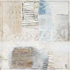 Michaela Mara #MixedMedia #collage painting