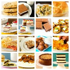 """The Best of Brown Eyed Baker in 2012: 20 of My Favorite Recipes"" All of these look AMAZING"