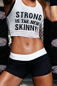 ...of course this picture is referencing P90X - bridal fitness continued