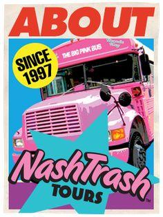 NashTrash Tour! Unique to Nashville for sure! #BFFNashville